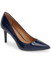 Calvin Klein 'Gayle' Pointy Toe Pump - Lyst