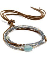 Pascale Monvoisin - Romaine Wrap Bracelet - Lyst