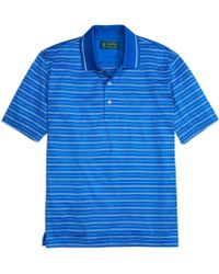 Brooks Brothers St Andrews Links Micro Stripe Polo - Lyst