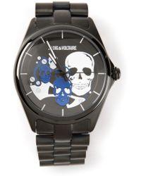 Zadig & Voltaire - Skull Detail Watch - Lyst