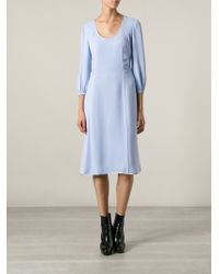 Marc Jacobs Midi Dress - Lyst