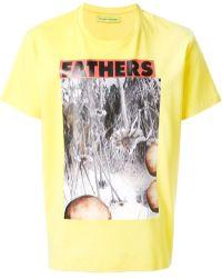 Raf Simons Printed Tshirt - Lyst