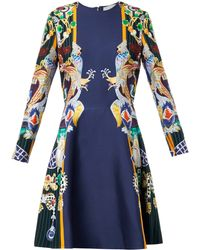 Mary Katrantzou Chrono Dragon and Parrot-print Dress - Lyst