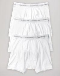 Calvin Klein Classic Boxer Briefs, Pack Of 3 - Lyst
