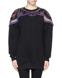 Emilio Pucci Embroidery and Embellish Sweatshirt - Lyst