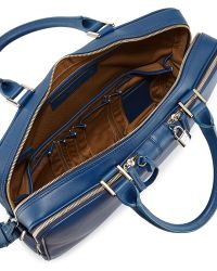 Want Les Essentiels De La Vie - Trudeau Zip Leather Briefcase - Lyst
