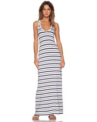 Feel The Piece Variegated Maxi Dress - Lyst