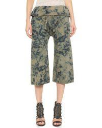 Basic Terrain - Eden Cropped Trousers - Harker Dye - Lyst