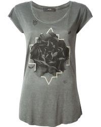 Diesel Printed T-Shirt - Lyst