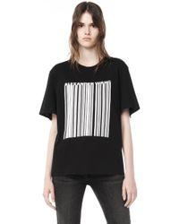 Alexander Wang | Welded Barcode T-shirt | Lyst