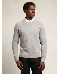 Apolis Alpaca Crew Neck Sweater - Lyst