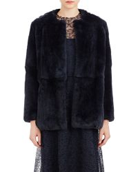 Katie Ermilio | Women's Rabbit Fur Jacket | Lyst
