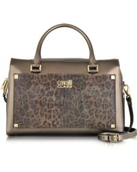 Class Roberto Cavalli Tilda Medium Bowling Bag - Lyst