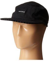 Nixon Tide 5 Panel Hat - Lyst