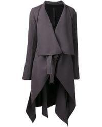 Gareth Pugh Bolero Insert Woven Coat - Lyst