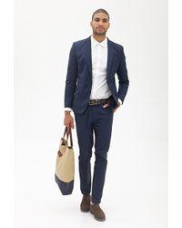 21men Twill Suit Jacket - Lyst
