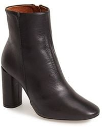 Topshop 'Magnum' Leather Ankle Boot - Lyst