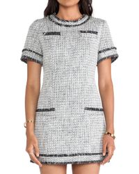 Rachel Zoe Riley Tweed Dress - Lyst