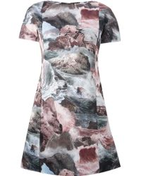 Carven Digitally Printed Dress - Lyst