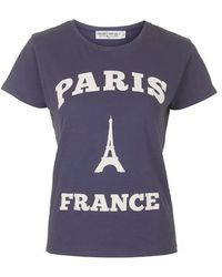 Topshop Paris Tee By Project Social T - Lyst