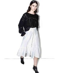 3.1 Phillip Lim - Corseted-waist Skirt - Lyst