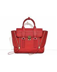 3.1 Phillip Lim - Pashli Medium Zip Satchel Bag - Lyst