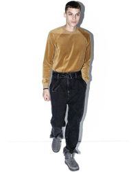 3.1 Phillip Lim - Washed Denim Cropped Trouser - Lyst