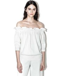3.1 Phillip Lim - Ruffled Off-the-shoulder Top - Lyst