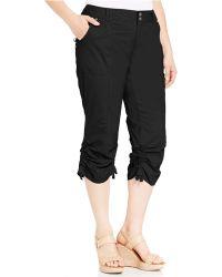 e51cc580d88 INC International Concepts - Plus Size Ruched Cargo Pants - Lyst