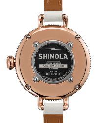 Shinola The Birdy Rose Golden Doublewrap Watch 34mm - Lyst