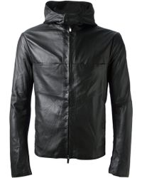 Emporio Armani Hooded Jacket - Lyst