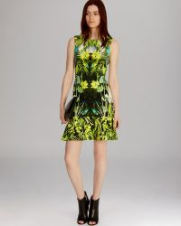 Karen Millen Dress Photographic Jungle Print - Lyst
