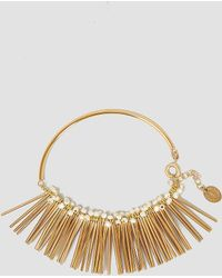 Medecine Douce - Khol Bangle Gilded Brass - Lyst