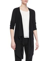 Alice + Olivia  New Drape Long Sleeve Wrap - Lyst