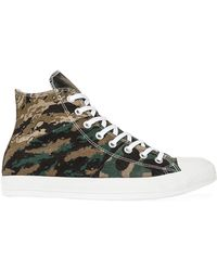 Converse The Chuck Taylor All Star Tripanel Hi Sneaker - Lyst