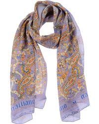 John Galliano Multicolor Stole - Lyst