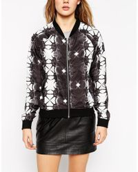 A Question Of | Geo-tribal Bomber Jacket | Lyst