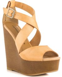 Chinese Laundry Beige Java - Lyst