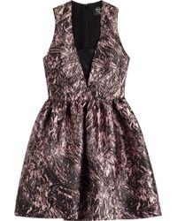 McQ by Alexander McQueen Printed Twill Dress - Lyst