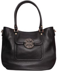 Tory Burch Leather Hobo Amanda Handbag - Lyst