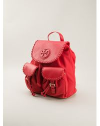 Tory Burch Marion Backpack - Lyst