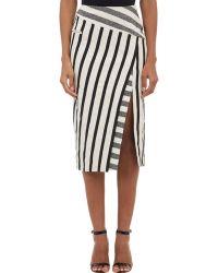 Altuzarra Blanket Stripe Jacquard Arcadia Skirt - Lyst