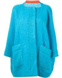 Daniela Gregis   Oversized Coat   Lyst