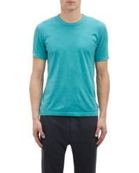 James Perse Basic T-Shirt - Lyst