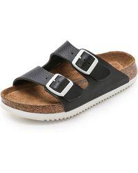 Birkenstock | Arizona Sfb Super Grip Sandals - Black | Lyst