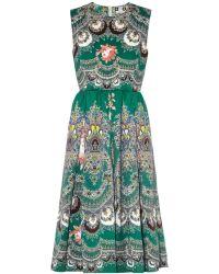 MSGM Floral Paisley-Print Dress - Lyst