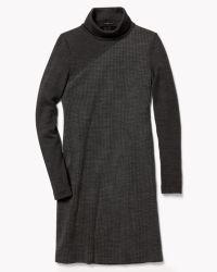 Theory Tajello Dress In Delfina gray - Lyst