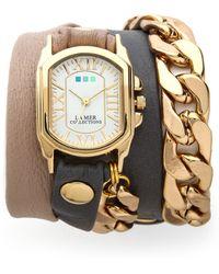 La Mer Collections - Wellington Malibu Chain Watch - Lyst