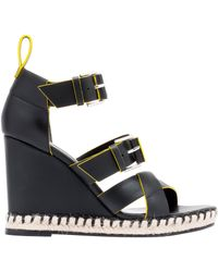 Balenciaga Rope Track Wedge Sandals - Lyst