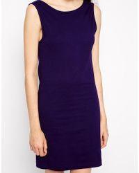 American Apparel Scoop Back Mini Dress - Lyst